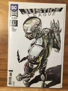 JUSTICE LEAGUE 39, NM+ 9.6, 1ST PRINT, JG JONES CYBORG VARIANT