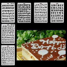 Alphabet Letter Number Fondant Cutter Mould Cake Cookie Decorating Baking Mold