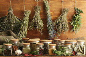 Dried Herbs - 122 Varieties 10 gram Packs, Herbal Teas, Remedies, Incense