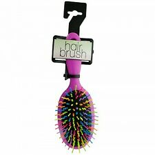 Rainbow Oval Paddle Hair Brush