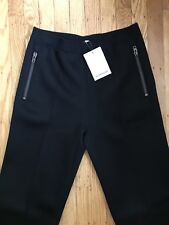 NWT Givenchy Men Neoprene Trousers - Black - Size: Small