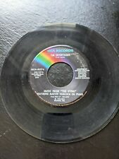 Music From The Sting Solace / The Entertainer 45 rpm Vinyl Record