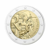 "France 2 Euro commemorative coin 2020 ""Charles de Gaulle"" - UNC *NEW*"