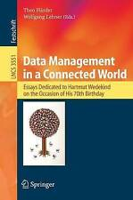 USED (VG) Data Management in a Connected World: Essays Dedicated to Hartmut Wede
