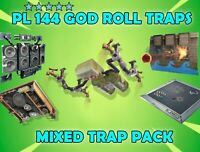 PL 144 Trap Pack / God Roll / Fortnite STW