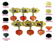 Classical Guitar Machine Head Golden Color with Plastic Buttons 306GX