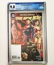 The New 52! CGC 9.8 1st App SIMON BAZ DC Comics FCBD Edition 2012 GREEN LANTERN