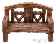 Vivid Arts - MINIATURE WORLD FAIRY GARDEN HOME ACCESSORIES - Garden Love Seat