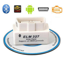 ELM327 ODB2 ODB-II Wireless Bluetooth Car Auto Diagnostic Scan Scanner White New