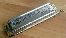 More details for super chromonica hohner harmonica in g made in germany.