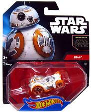 HOT WHEELS STAR WARS THE FORCE AWAKENS BB-8 CAR - NEW - CHEAPEST