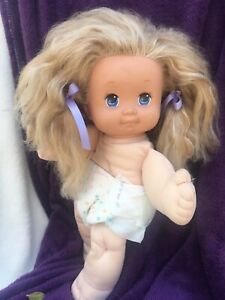 Magic Nursery Doll Blue Eyes First Grown Teeth RELISTED DUE TO NON PAYING BIDDER