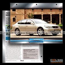 #098.05 ★ (TOYOTA) LEXUS GS 430 2000 ★ Fiche Auto Car card