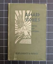 Asgard Stories Foster Cummings 1901 Hardcover Norse Mythology Illustrated