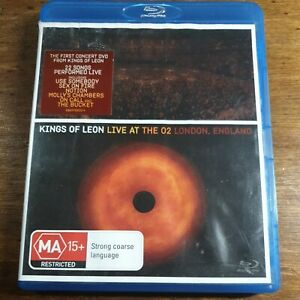 Kings of Leon Live at the O2 Blu-Ray LIKE NEW! FREE POST