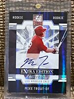 2009 Donruss Elite Extra Edition Mike Trout #57 RC /495 Near Mint
