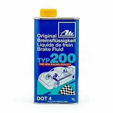 ATE 706202 Original TYP 200 DOT 4 Brake Fluid - 1 Liter Fast Shipping!