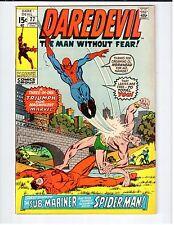 Marvel DAREDEVIL #77 June 1971 NM vintage comic, Colan c&a Spider-man crossover