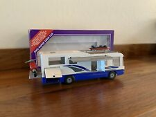 SIKU SUPER SERIE 1:55 SCALE 3129 MOTOR HOME WITH ACCESSORIES AND ORIGINAL BOX