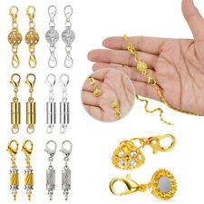 5PCS Magnetic Lobster Clasp Hook Connector Necklace Bracelet Jewelry DIY
