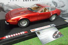 FERRARI 365 GTB 4 Daytona 60th anniversair rge satin 1/18 ELITE HOT WHEELS L2981
