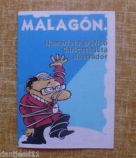 Revista / Folleto, Malagón, Humorista Gráfico, Caricaturista, Ilustrador