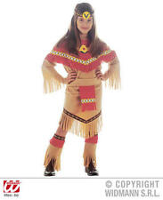 Childrens Pocahontas Fancy Dress Costume Indian Girl Outfit 140Cm