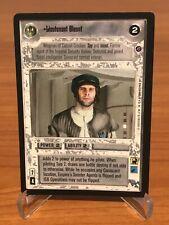 Star Wars CCG LIEUTENANT BLOUNT Death Star II