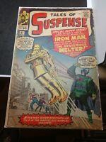Tales of Suspense #47 Iron Man GOLD ARMOR Marvel Comics - Nov 1963 (Good)