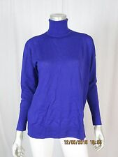 J. CREW XS 100% Merino Wool Wide Oversized Turtle Neck Pullover Thin Sweater