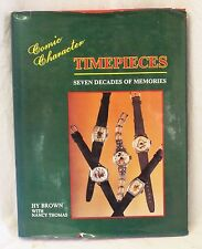COMIC CHARACTER TIMEPIECES: Seven Decades of Memories BOOK Disney DC Marvel
