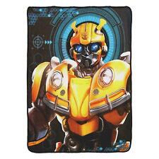 "New Transformers Bumblebee Super Plush Soft Throw Blanket 46""x60''"