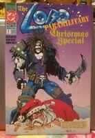 Lobo Paramilitary Christmas Special #1(1991, DC)🔑LOBO KILLS SANTA🔑VF/NM