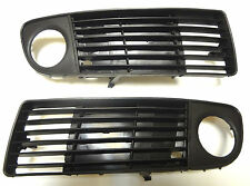 NEW AUDI A6 1999-2001 front bumper lower grille with fog lights hole (LH+RH)