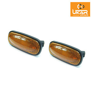 Land Rover Defender  Set Of 2 Led Amber Side Marker Repeater Lights XGB000030LED