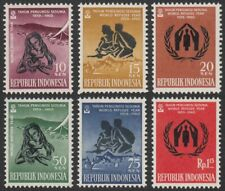 Indonesia, 1960 World Refugee Year. SG 824-9 Unmounted Mint MNH