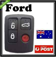 Ford 4 Button Remote Key Case Shell For  Territory SX XR6 XR8 Falcon BA BF FPV