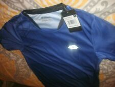 Lotto Boys Football Soccer Shirt Blue Italian Sports Design Top Size XL/XXL (B76