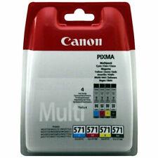 Canon CLI-571 BK/C/M/Y Ink Cartridges Multipack/Multicolour