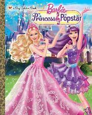 Princess and the Popstar Big Golden Book (Barbie) Depken, Kristen L. Hardcover