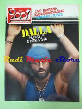 rivista CIAO 2001 19/1983 Lucio Dalla Santana Joan Armatrading Tubes Sky  No cd