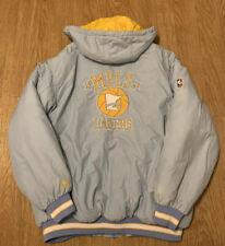 Retro Minneapolis Lakers Reebok Hardwood Classics Puffer Jacket Mens Medium MPLS