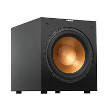 "Klipsch 12"" Black Powered Subwoofer - R-12SW"