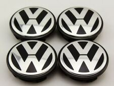 4 x Pcs Wheel Caps for Volkswagon VW in 56mm for Golf R, GTI, Jetta, SciroccoNEW