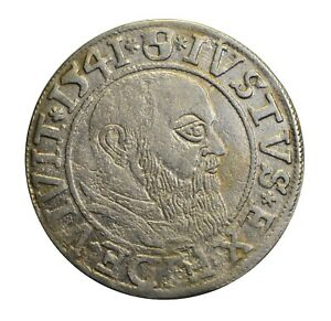 Germany Prussia Groschen Albert dated 1541