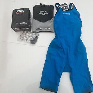 NWT Arena Racing Powerskin Pro Mark 2 FBSLO SL Women Sz 28 Open Back Tech Suit