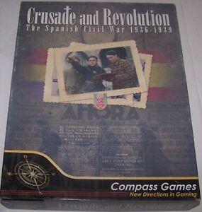 CRUSADE and REVOLUTION THE SPANISH CIVIL WAR 1936- 1939 GAME