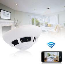 WIFI Spy Smoke Detector Camera Hidden Video Recorder Cam Motion Detection DVR DV