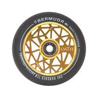 Oath Bermuda Scooter Wheels (Pair) 110mm -  Neo Gold