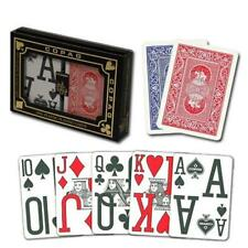 New COPAG Plastic Playing Cards Poker Size MAGNUM SUPER Index Red Blue